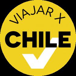 Logo ViajarxChile en formato JPG sin marco